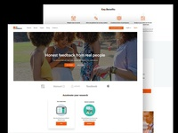Free Startup Website Template