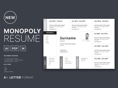 Free Horizontal Resume Template free cv template word resume doc ai freebie psd freebie horizontal resume free resume template cv resume