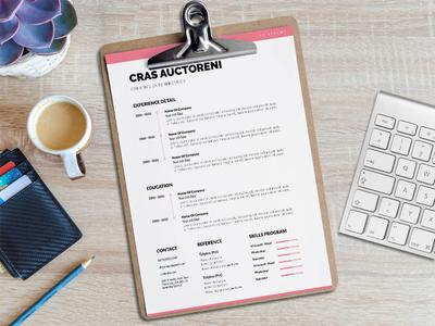 Free Minimalist Professional Resume Template