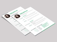 Free Simple Creative Resume Template