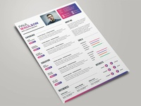 Free Colorful Resume Template