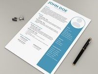 Free Formal Designer Resume Template
