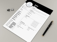 Free Counsellor Resume Template