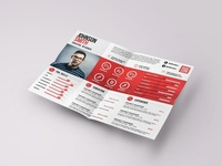 Free Landscape Resume Template
