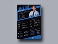 Free Stylish Designer CV Template