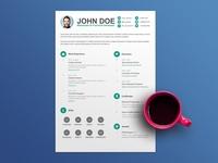 Free Minimal CV/Resume Template