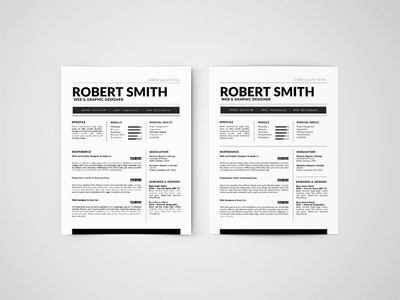 Free Standard Resume Template