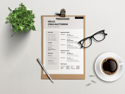 Free Brown Color Resume Template