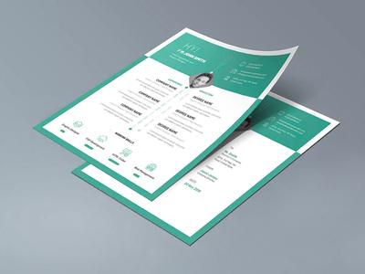 Free Infographic Curriculum Vitae Template