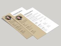 Free A4 Resume Template (FREEBIES)