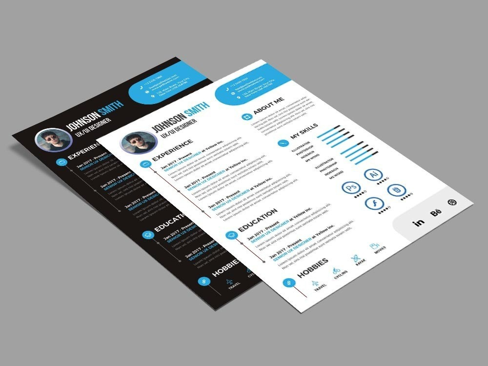 Free Modern Style Resume Template For Any Job Opportunity stylish modern freebie psd psd photoshop free cv free resume free cv template resume free resume template free template freebies freebie