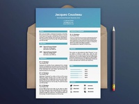 Free Two Columns Resume Template