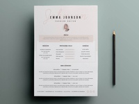 Free Classic CV Resume Template