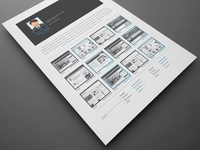 5 Free Resume InDesign Templates with Professional Look