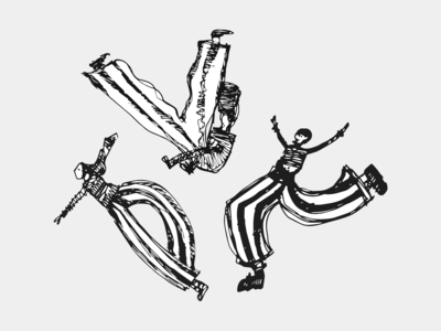 Crazy little dancers