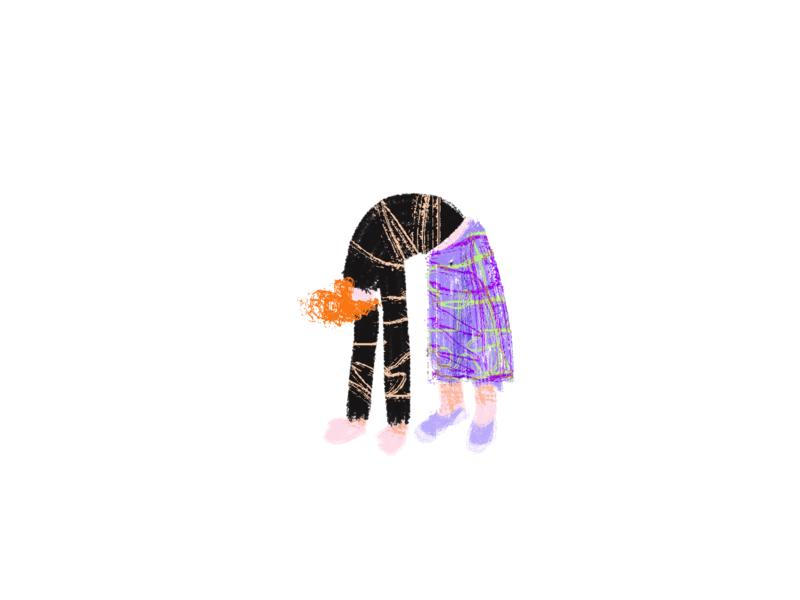 H8 home yoga girl woman illustration design concept web illustration illustration design