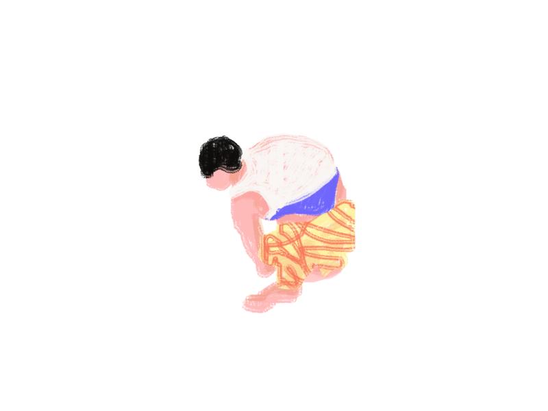 H3 person human man texture concept web illustration illustration design