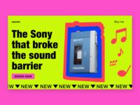 Release Sony Walkman audio player in 1979
