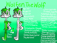Wolfen The Wolf Refrence - Speedpaint