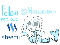 Follow Me At Steemit Marionettegirl