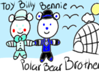 Toy Billy S Drawing  Polar Bear Brother