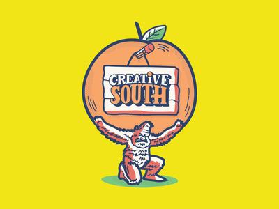 Sticker Design for Creative South