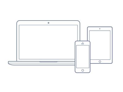Free vector: Macbook,  Ipad, and Iphone freebies vector mockup svg iphone macbook ipad free