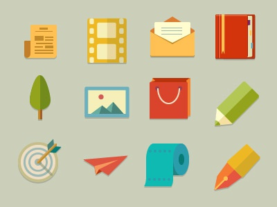 Flat Icons iconeden simple ui user interface pictograms icons icon flat