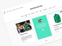 Boston Celtic Basketball News Page
