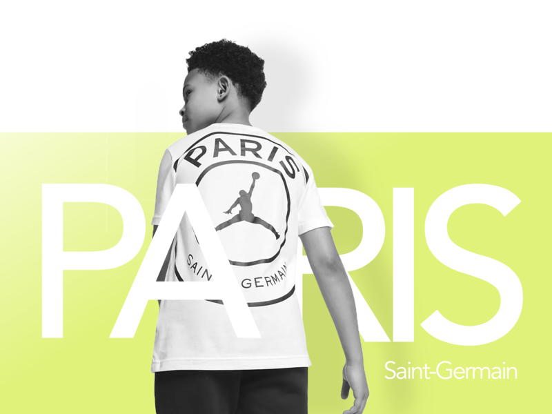 Paris Saint-Germain - Abstract vector artwork 2