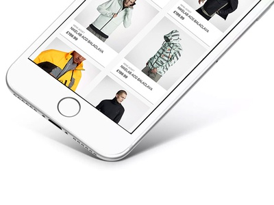 Outerwear Store UI