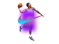 Gradients and swooshes
