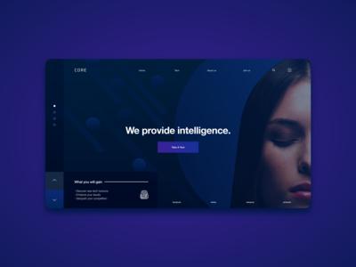 Core Technologies Web UI