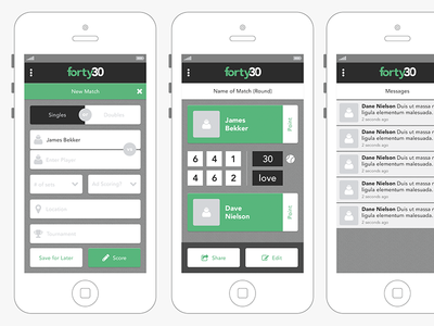 Forty30 App Preview 2