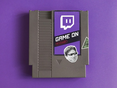 Game On pretendo nintendo nes twitch purple