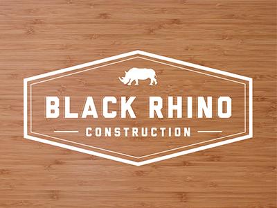 Black Rhino Logo logo illustration