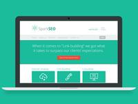Spark SEO - Web Template for a SEO Agency