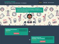 Timeliner (User profile) - Free PSD