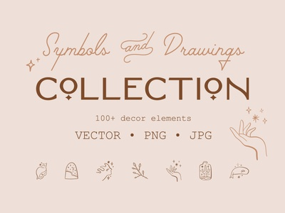 Magical Symbols & Drawings Set