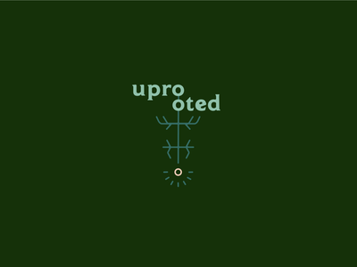uprooted rebrand logo concept