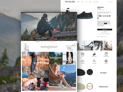 Hey Dude Shoes - Shopify Theme Development