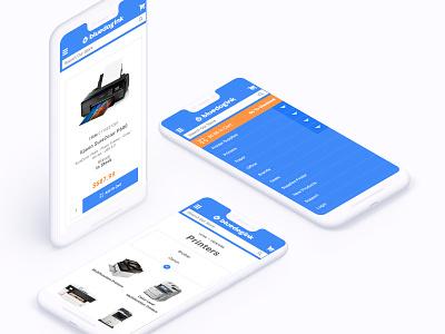 Bluedogink.com - Brand Identity + UX Design technology ux design ux mobile ecommerce app ecommerce design ecommerce branding