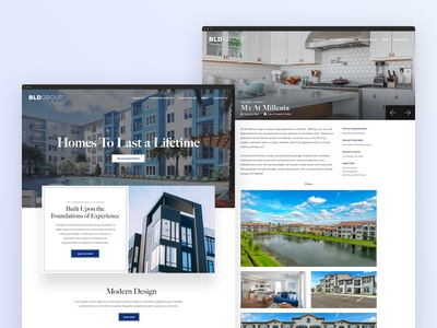 Real Estate Development & Property Management Website - BLDGroup