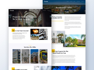 Safeguard Public Adjusters - Wordpress Theme Design/Development