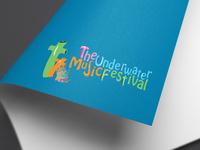 Underwater Music Festival Logo