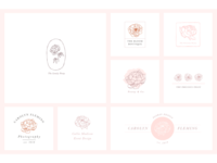 The Precious Peony Logo Collection