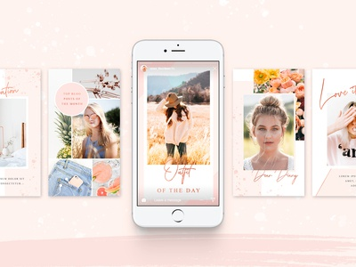 Rose Gold Social Media Pack