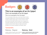 Badges Style Tile