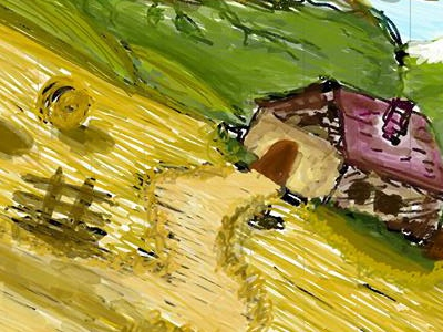 Myhome home samsung note pen paint