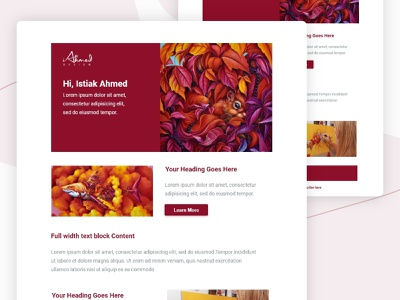 Email template branding flat identity minimal email design newsletter template brand identity visual identity web template newsletter modules marketo marketing mailchimp mail guidelines email design system branding design brand